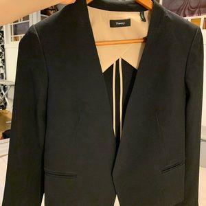 Women's Black Blazer Theory (almost new)